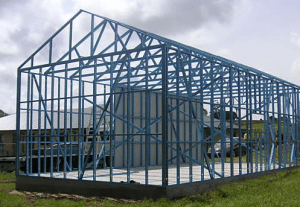Steel Shed Frame